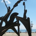 Пляж Сант Себастиа (Playa de Sant Sebastia)