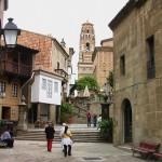 Испанская деревня Poble Espanyol в Барселоне