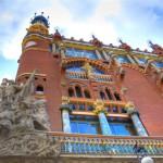 Дворец каталонской музыки.