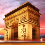 Триумфальная арка в Париже