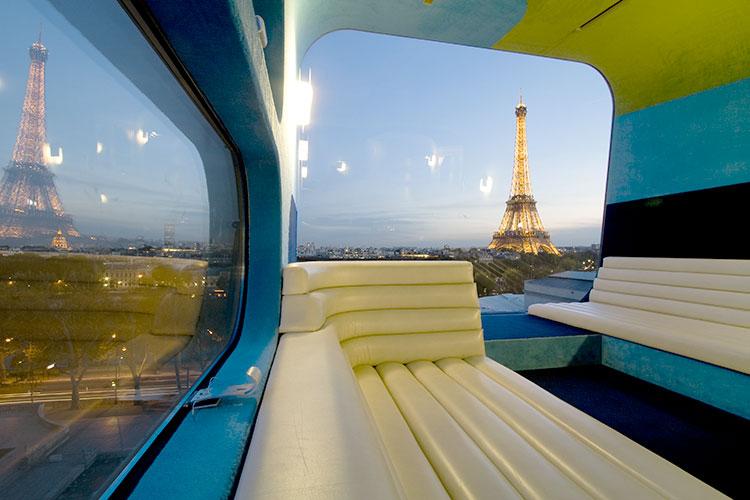 Франции есть отель, расположенный на крыше музея