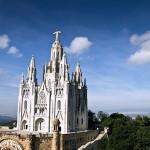 Храм Святого Сердца (Iglesia del Sagrado Corazón) на горе Тибидабо (Tibidabo)