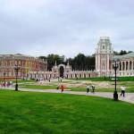 Парк Царицыно в Москве.
