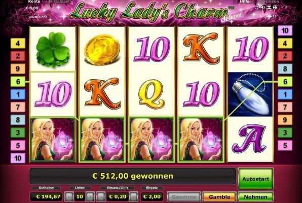 lucky ladys charm online spielen