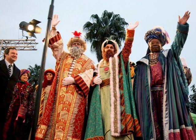 День Трех Королей в Барселоне