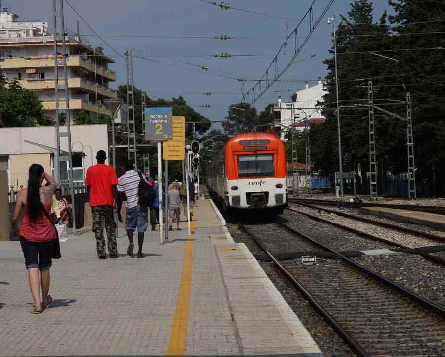 ЖД станция в Салоу