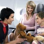 Как подготовить малыша к первому полету на самолете