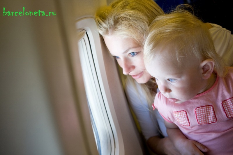 Ребенок и самолет: готовимся к первому полету