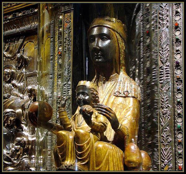 Черная Дева Мария Испания