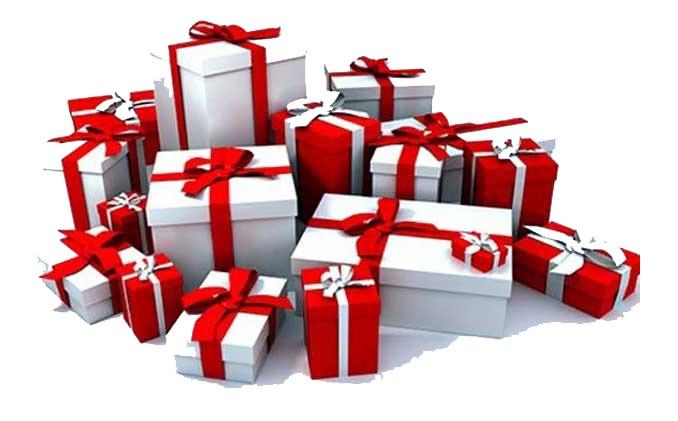 подарок на новый год