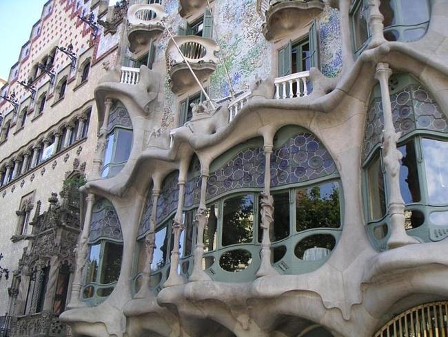 Барселона  архитектура