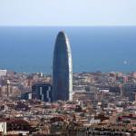 Башня Агбар в Барселоне.