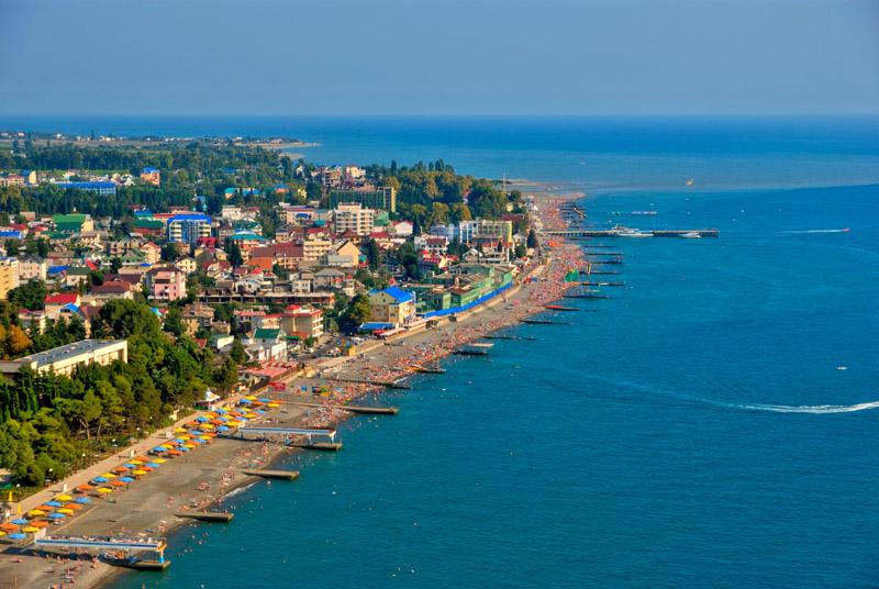 Где отдохнуть на Черном море в России