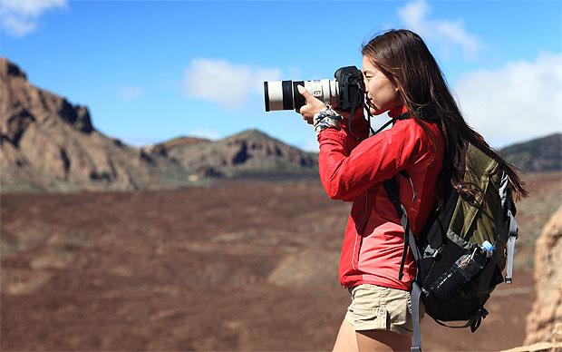 фотоаппарат и объектив для путешествий