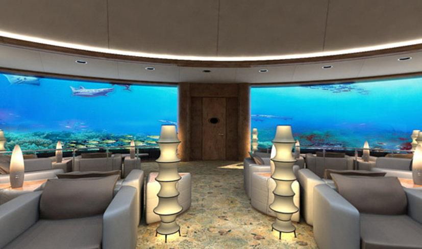 Подводный отель Посейдон на Фиджи