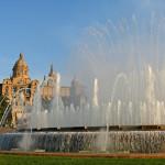 Поющие фонтаны Барселона, Испания