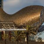 Скульптура «Рыба» в Барселоне