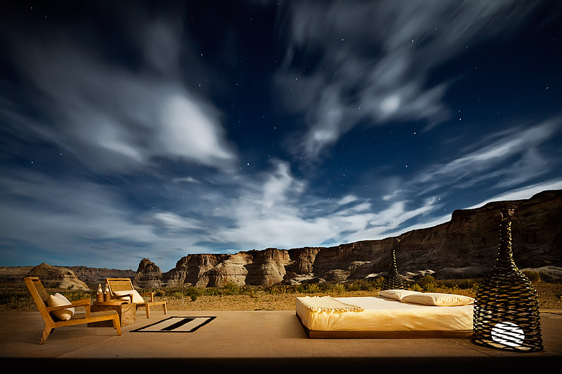 Amangiri - курорт среди каньонов Юты, США