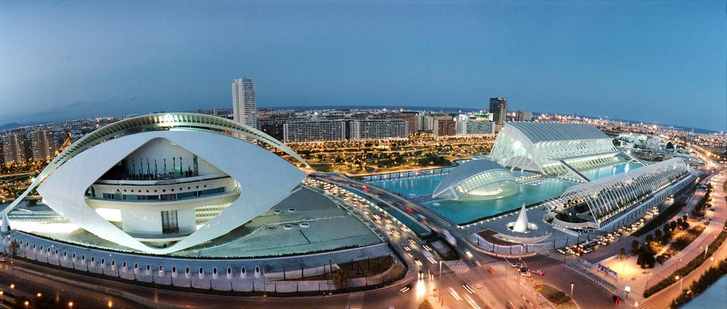 Город науки и искусств — Валенсия
