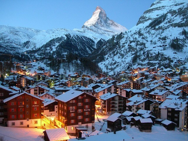 Церматт (Zermatt), Горнолыжные курорты Швейцария