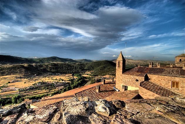 Город Кардона (Испания)