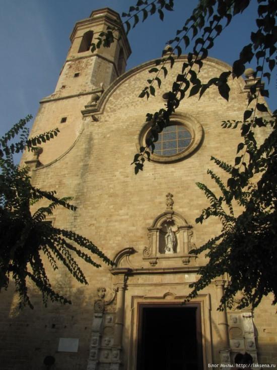 Церковь Святых Марии и Николаса в Калельи