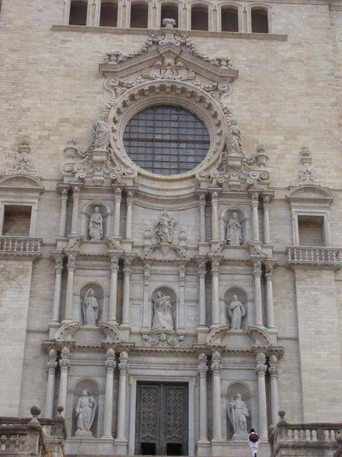 Кафедральный собор в Жироне