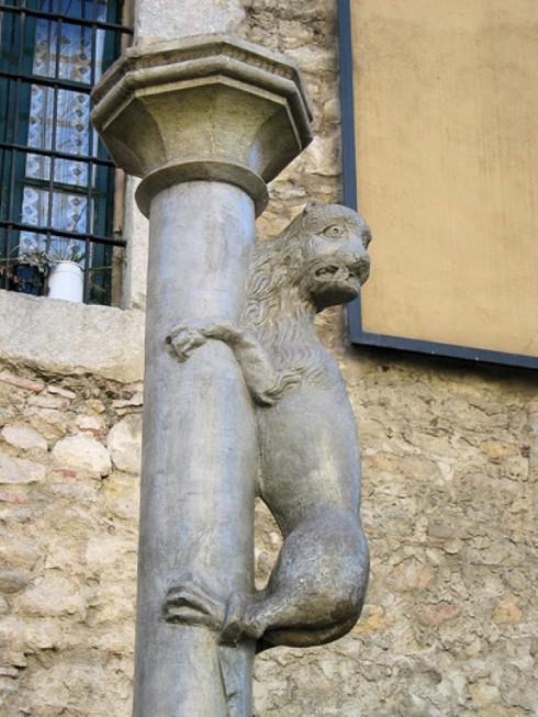 Жиронский лев в Жироне