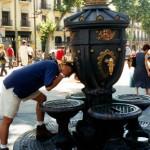 Фонтан Каналетес в Барселоне