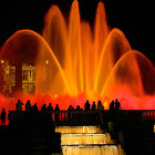 Светящийся фонтан. Испания (Салоу)