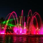 Поющие фонтаны (видео, фото)
